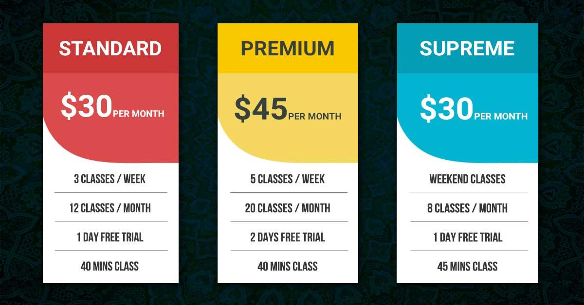 QA-Pricing-Table